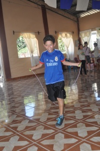 Friend jump rope