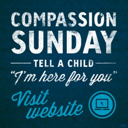 """""""Tell a child – I'm here foryou"""""""