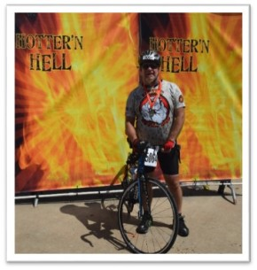 """""""Hotter'n Hell Hundred"""" BicycleRide"""
