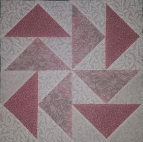 """Flying Dutchman  Paper Piecing 12""""block"""
